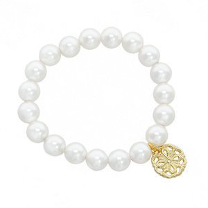 CLAIRE - A pearl bracelet that will make you feel perfect everyday. - A.Z. Bigiotterie